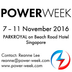 Power Week Conference, Singapore - November 2016