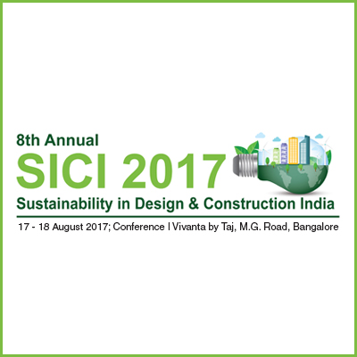 Sustainability in Design & Construction, Bangalore - August 2017